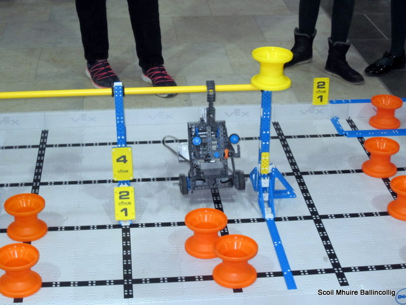 Robotics Competition in CIT.